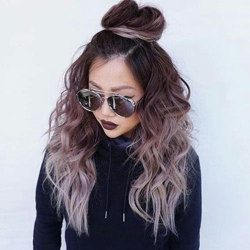 Imagem De Hair Hairstyle And Tumblr Hair Styles Hair Dye Colors Dyed Hair