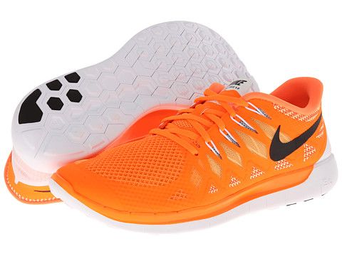 uk availability 4217e abe31 Nike Nike Free 5.0  14 Total - Orange Atomic Mango Metallic Silver Black  ( 100)  Running