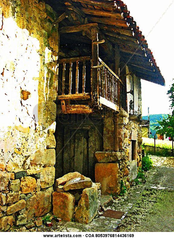 Casa en soto de agues asturias my digital art pinterest paisajes spain y asturias espa a - Casa de asturias madrid ...
