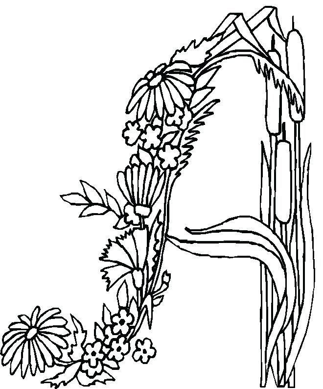 enluminure a colorier a enluminure lettrine a colorier   Coloriage alphabet, Coloriage ...