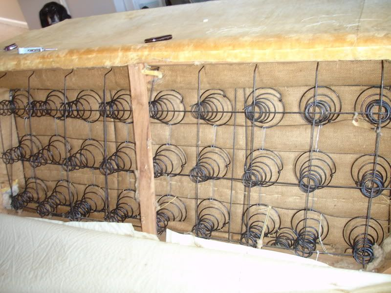 Can You Repair Broken Coil Springs In An Old Couch Doityourself Community Forums