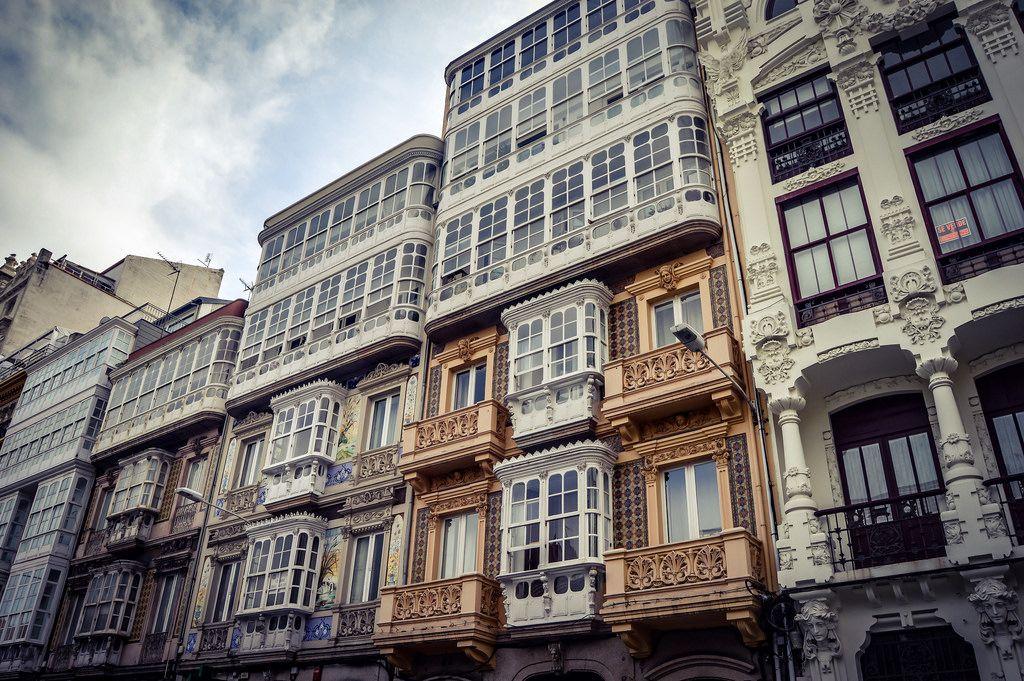Modernismo En A Coruña A Coruña Spain Urban Architecture Spain Architecture