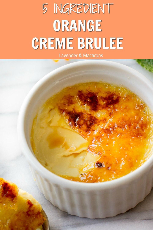 Best Creme Brulee Recipe (JUST 5 INGREDIENTS) - Lavender & Macarons