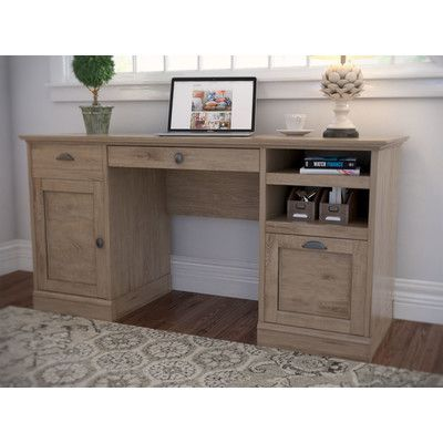 Beachcrest Home Stackhouse Executive Desk in 2018 Products