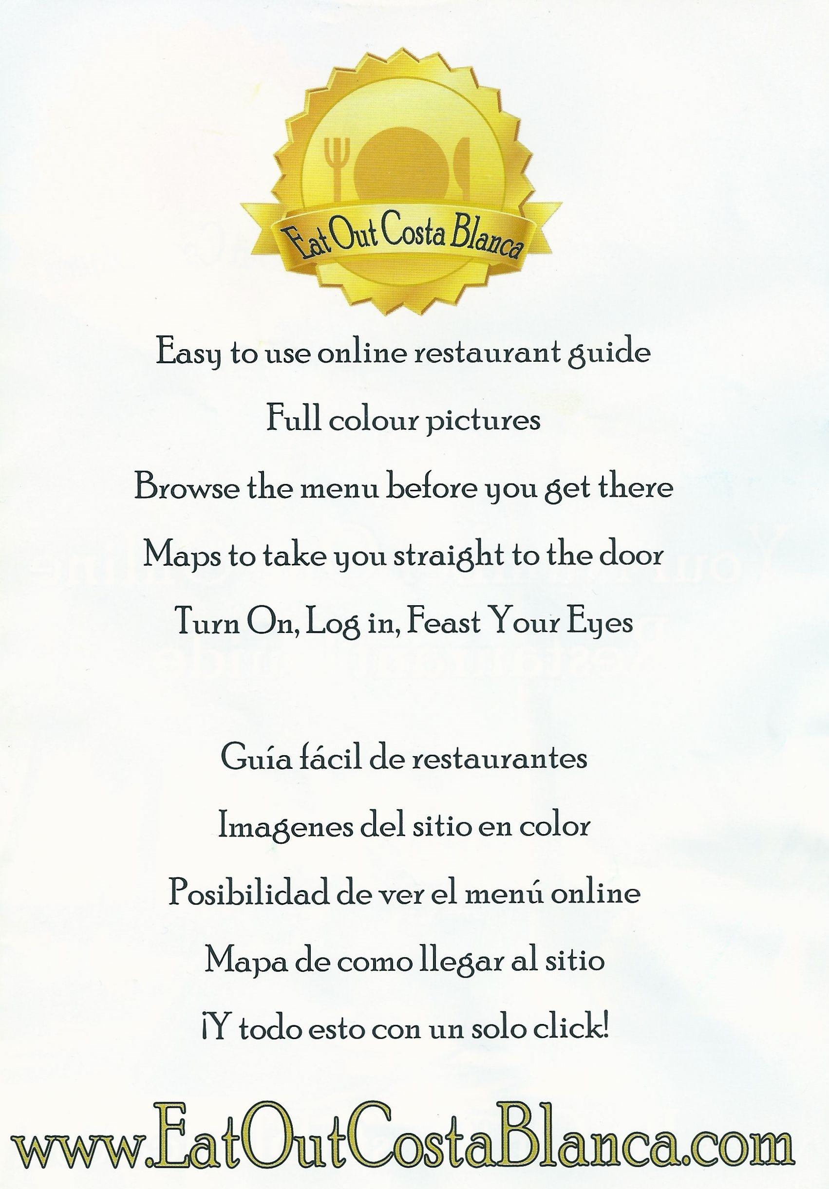 www.eatoutcostablanca.com   Eat Out Costa Blanca   Pinterest