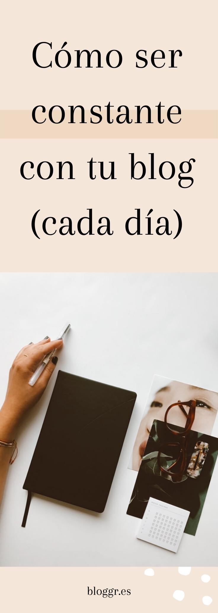 Como Ser Constante Con Tu Blog Cada Dia Blog Calendario Gratis Cursillo