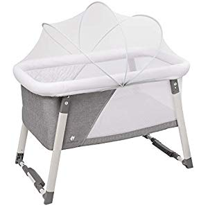 baby cot with change table