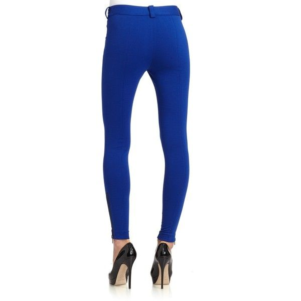 Cynthia Steffe Selby Zip Detail Leggings ($73) ❤ liked on Polyvore