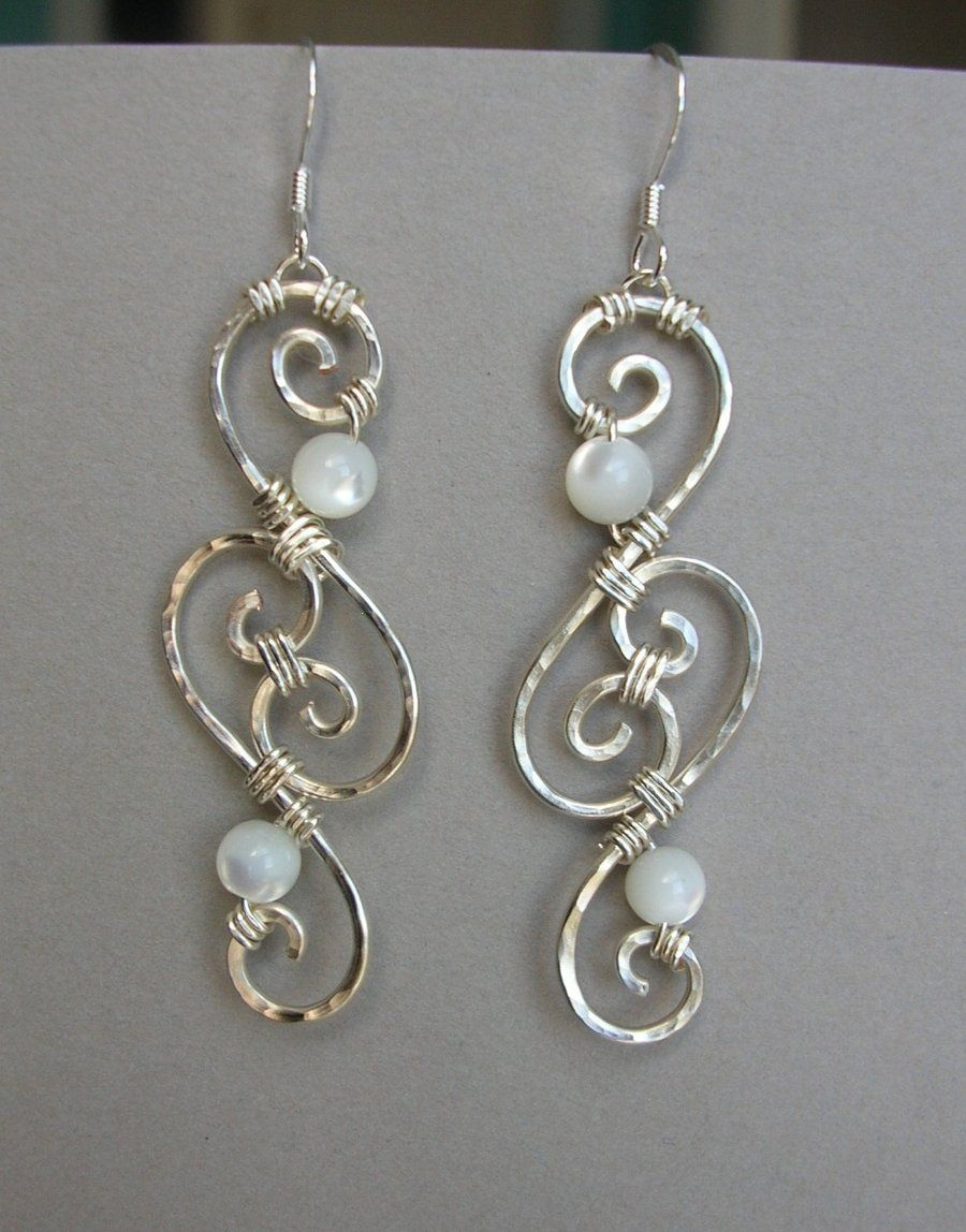 Wire Filigree Earringsen't These Pretty??? @amber