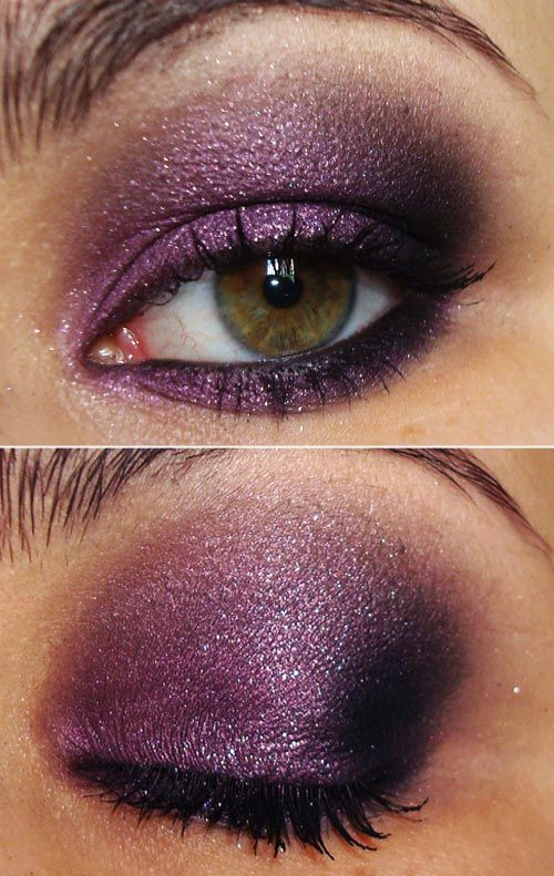 Purple Sparkle Using Sephoras Fairy Princess