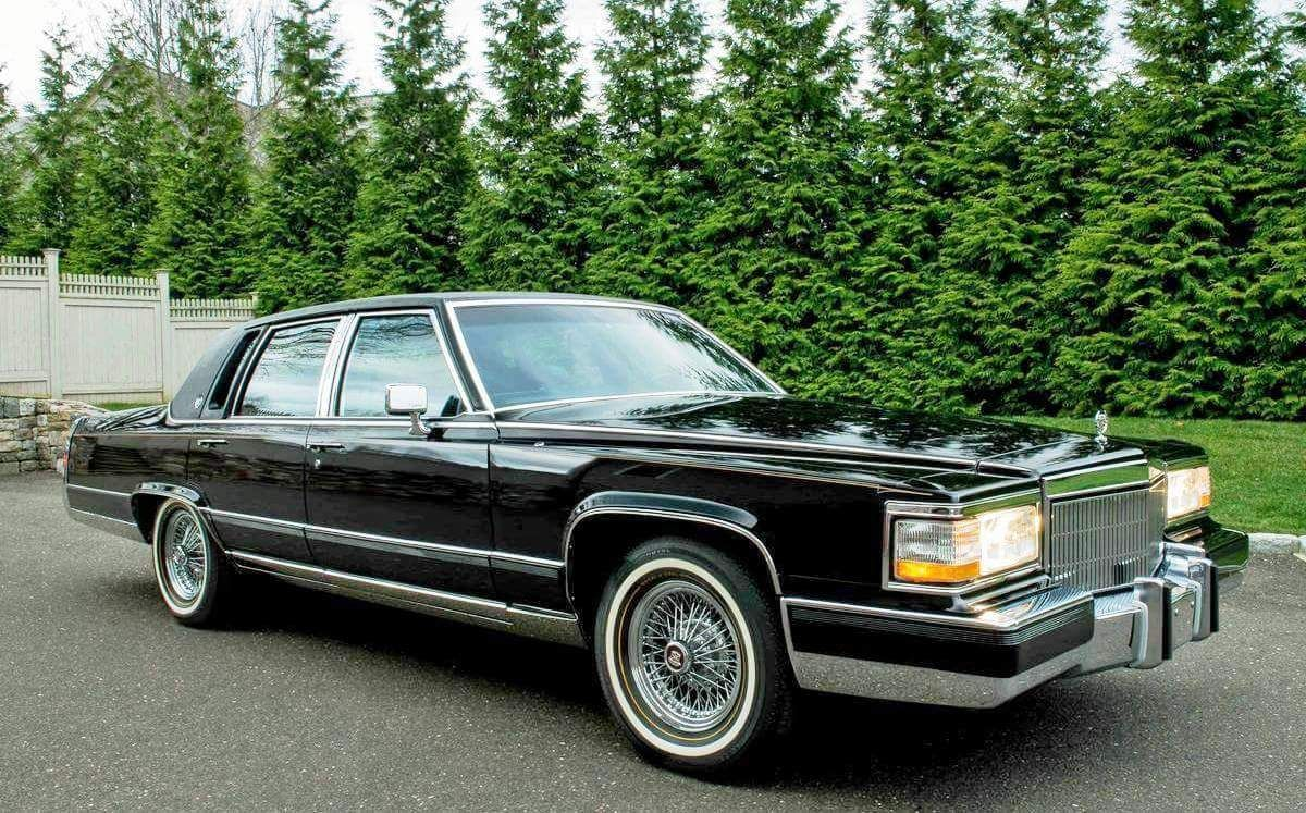 Cadillac Brougham (Fleetwood name transferred to front-drive ...