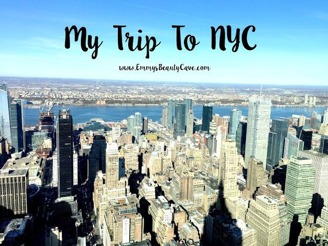Just over a week ago I returned from New York and I literally had the most amazing trip. New York has been on my list for so long, we booked it back in February to celebrate the end to the past 2 year