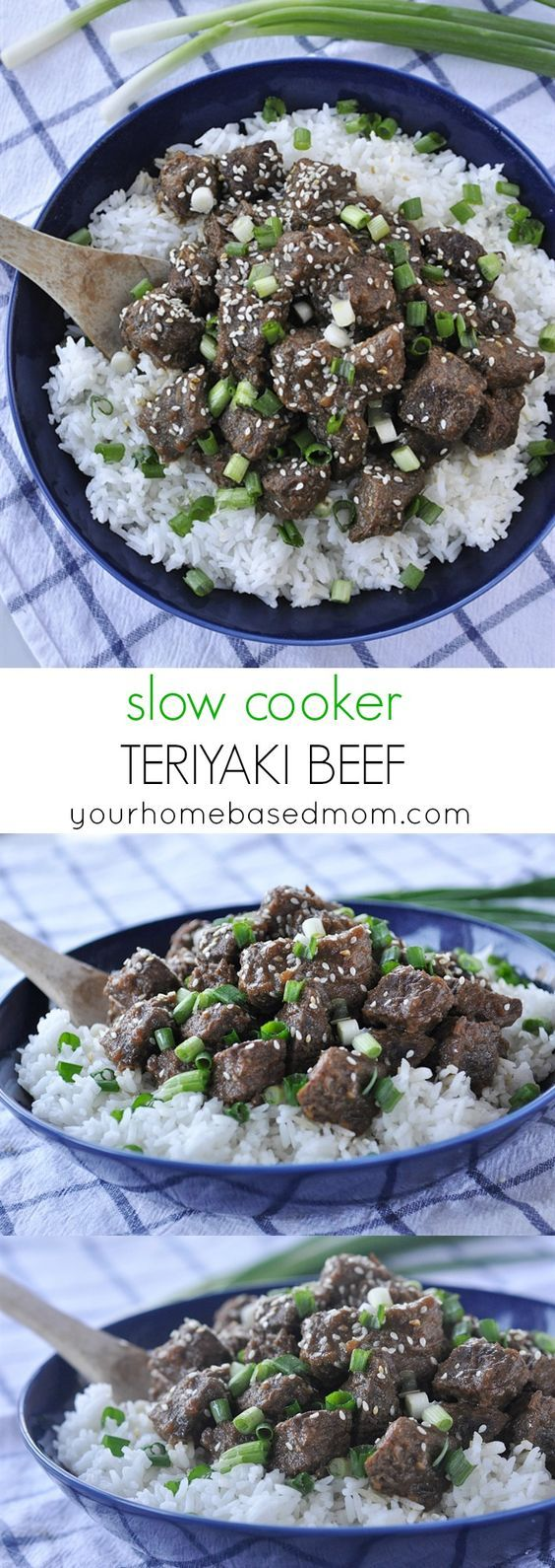 Slow Cooker Teriyaki Beef ~ a delicious and easy dinner recipe made in the crock pot!
