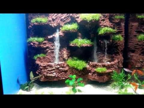 aquarium sand waterfall 28 youtube waterfall pinterest