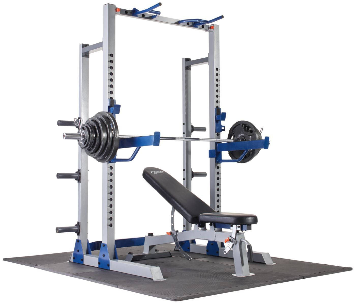 Pin by Ant Till on Home Weight Room Half rack, Workout