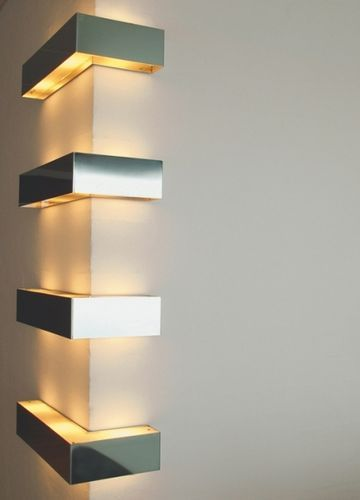 Contemporary wall light steel for m corner by j bjarnhoff m contemporary wall light steel for m corner by j bjarnhoff m nanni viabizzuno mozeypictures Images