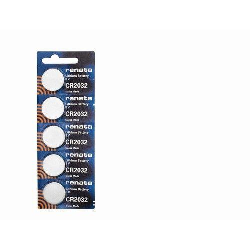Pkg/5 Type CR2032 RenataSwiss Lithium Batteries (JRB2032)