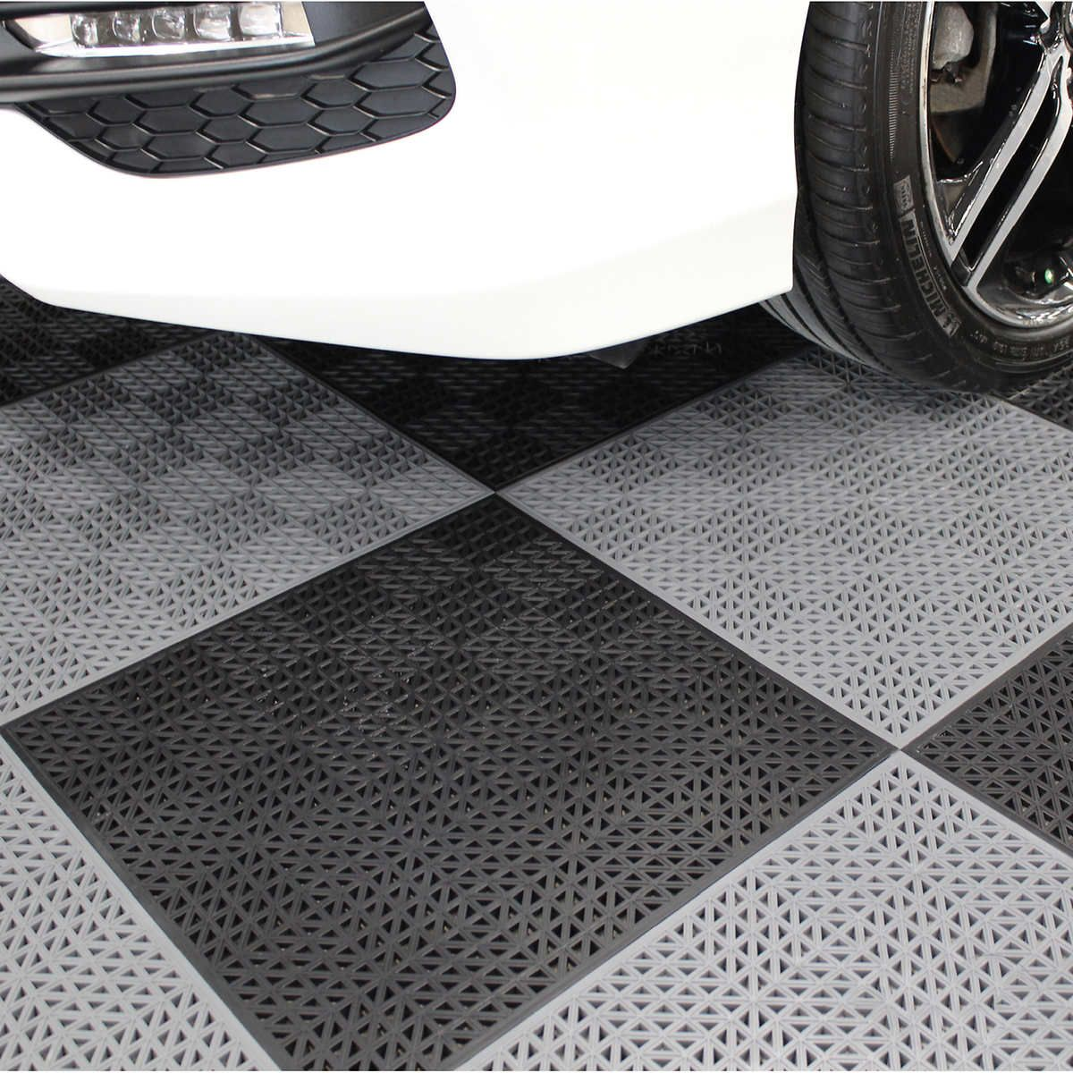 PlastiProLoc Heavy Duty Garage Floor Tiles in 2020