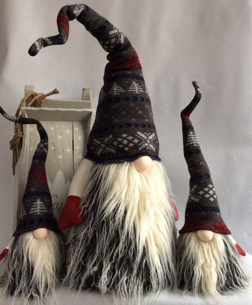 Handmade Swedish Tomte Christmas Gnome Scandinavian Santa