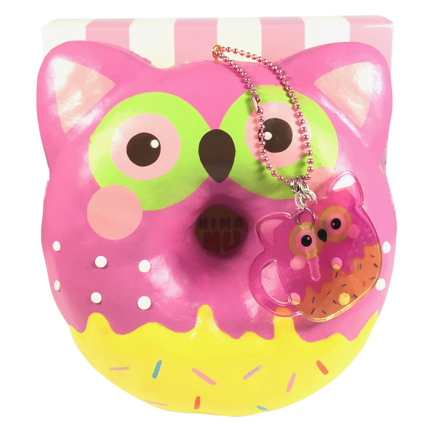 Puni Maru Jumbo Animal Donut SCENTED Squishy! squishes Pinterest Doughnut, Animal and ...