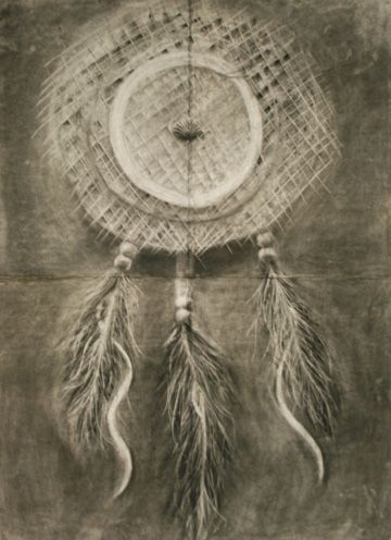 Dreamcatcher drawing for Painting I