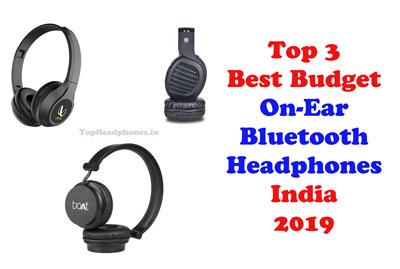 Top 3 Best Budget On Ear Bluetooth Headphones India 2019 Bluetooth Headphones Headphones Best Budget