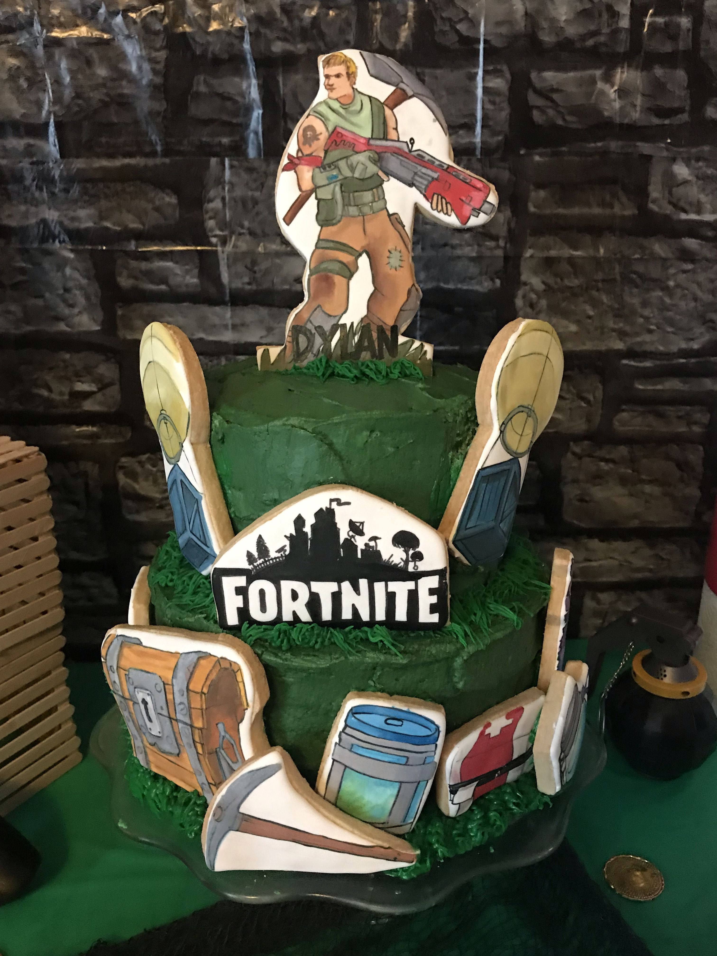Pin by jennifer haynie on Fortnite party Royal party
