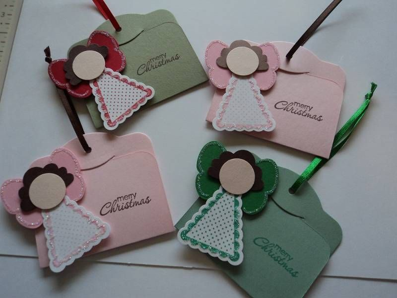 Angel Tags by candee porter - Cards and Paper Crafts at Splitcoaststampers