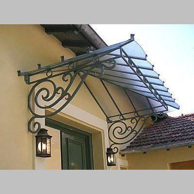 Resultado de imagen para marquesina de hierro forjado - Escaleras de hierro forjado ...