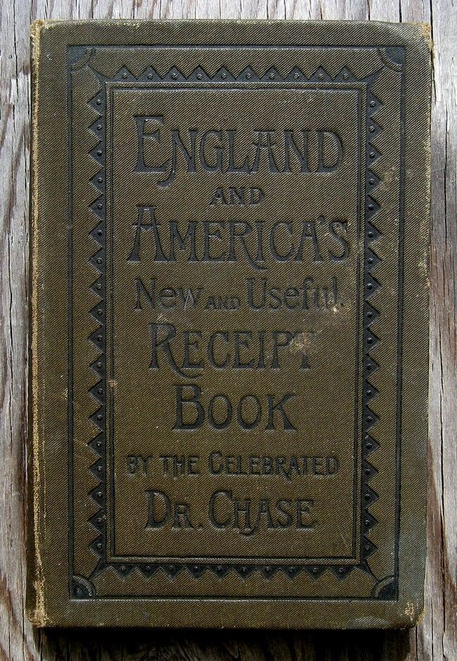 Antique COOKBOOK Home Farm RECIPES 1870s FARRIER Household SOAP Dyes BEER Wine