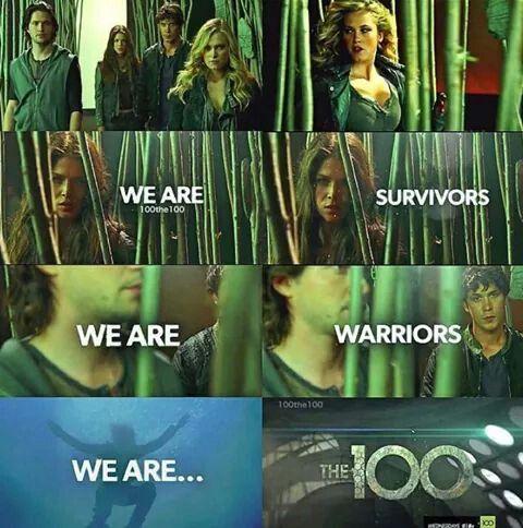 The 100 season 2 ♥