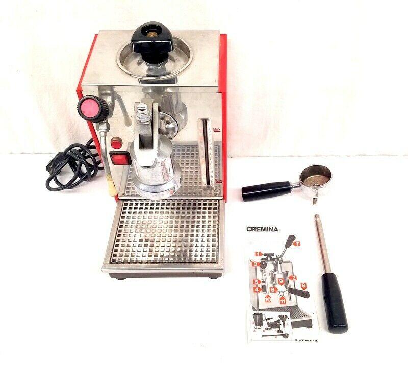 Olympia Express Cremina Espresso Machine Made In Switzerland W Accessories Kaffee