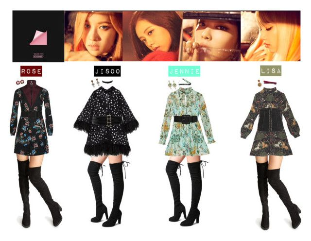 """Blackpink Outfit Ideas: PLAYING WITH FIRE """" By Mabel-2310 On"""