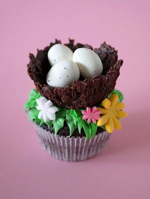 """Three Little Birds"" Cupcakes..."