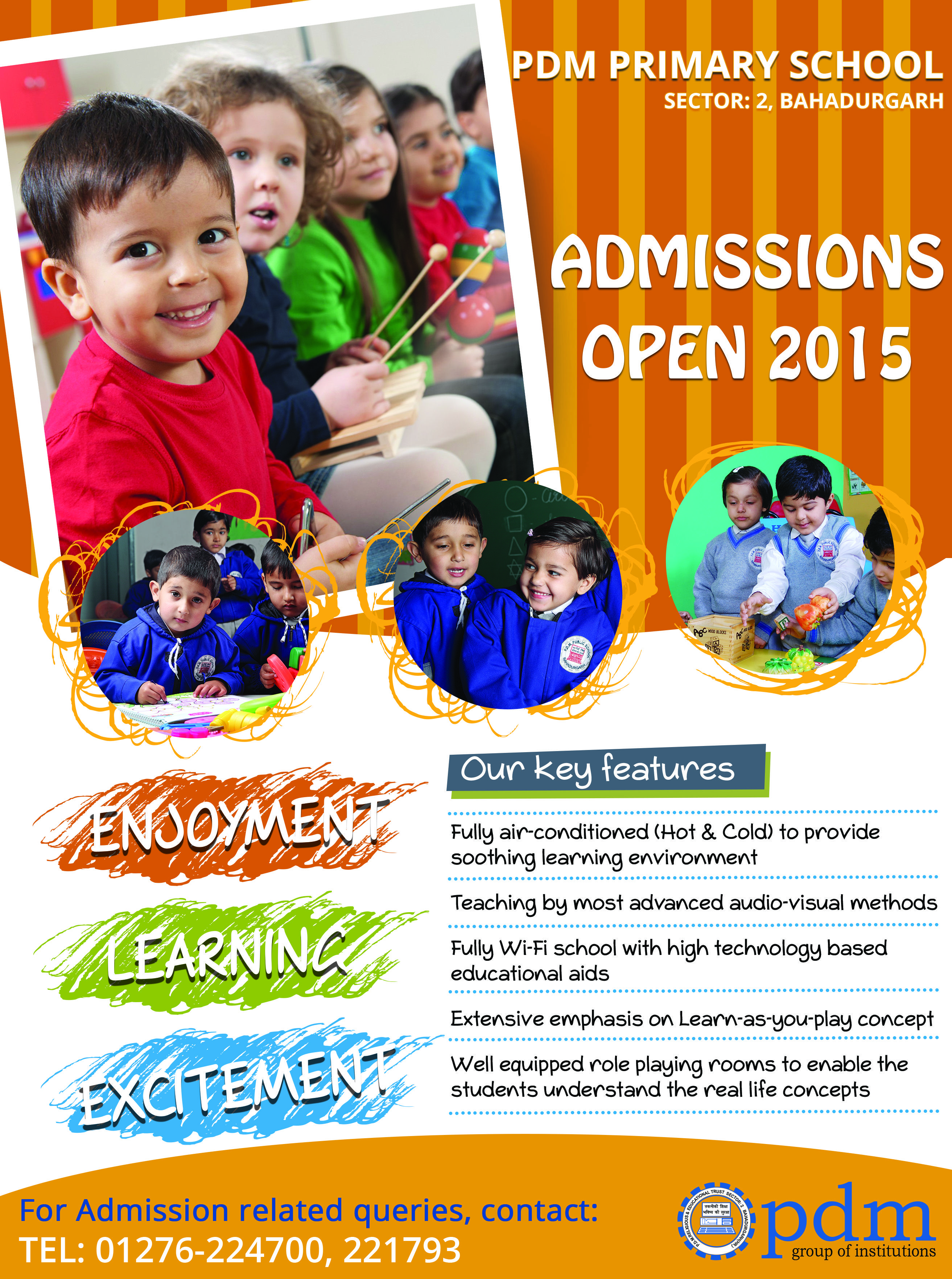 pdm primary school flyers 2015 print design projects pdm primary school flyers 2015