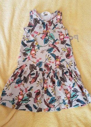 Sommer Kleid Fur Madchen Gr 110 116 Von H M Kleider Madchen