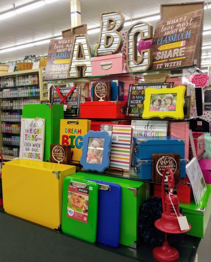 BTS ABC display Hobby Lobby Houston | Hobby lobby decor ...