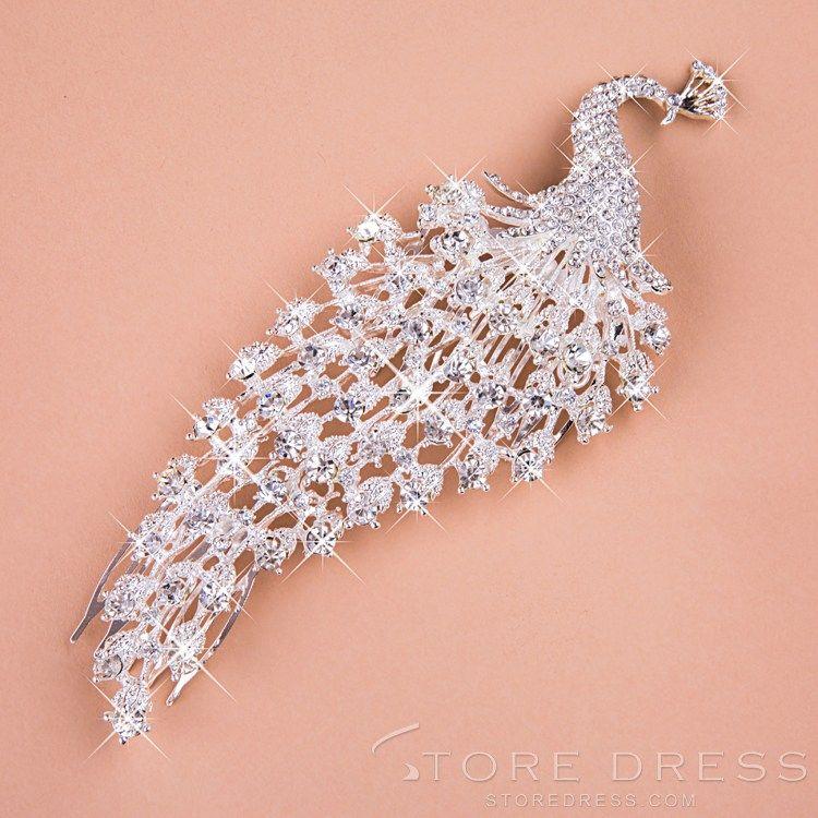 Shining Rhinestone & Alloy jewelry Headpiece