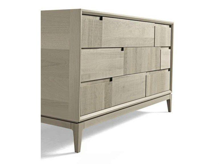 Compra en línea M-619 cómoda by Dale Italia, cómoda en nogal