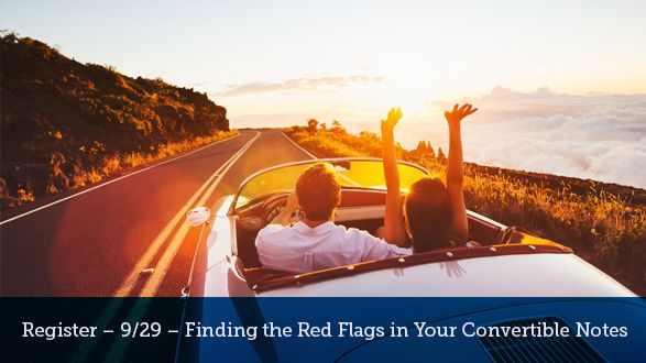 How To Spot Red Flags In Your Convertible Notes Road Trip Fun