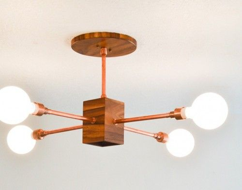 Diy copper and wood hanging light fixture would be beautiful with diy copper and wood hanging light fixture would be beautiful with vintage salvaged brass solutioingenieria Image collections