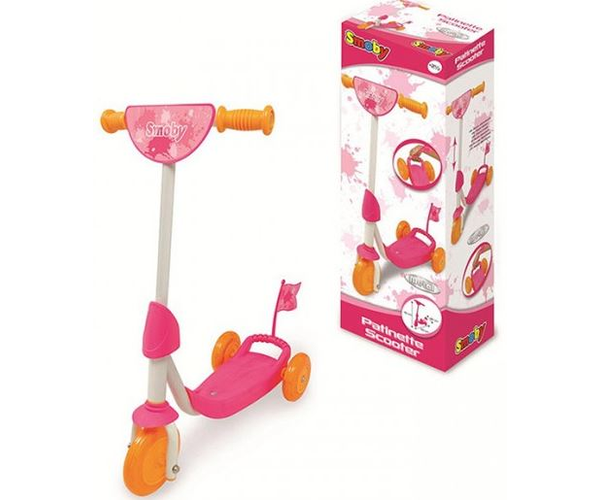 Scooter Flag 3 Wheels Girl Birthday supplies, Kids toys