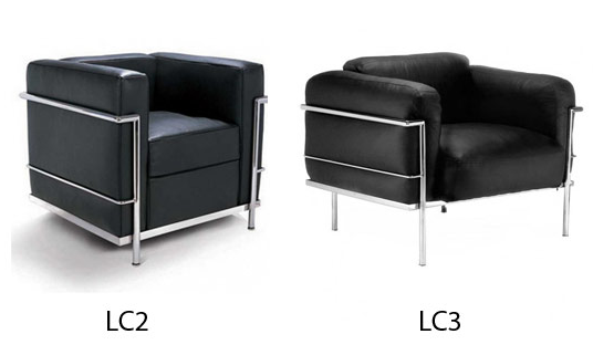 LC2 And LC3 Armchair U2013 Le Corbusier History: The LC2 Petit Armchair Is The  Mini Me Version Of The Grand Comfort Chair Designed By Le Corbusier In 1928.