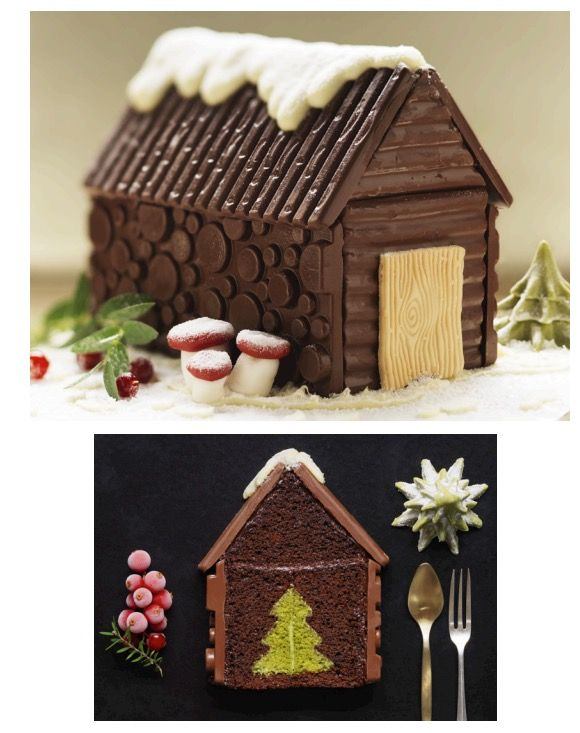 Stunning Hidden Centre Cakes Perfect For The Christmas Table