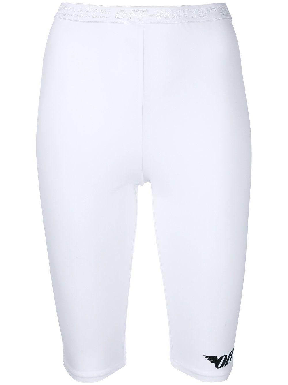 0a03320eaea35d OFF-WHITE CROPPED LEGGINGS. #off-white #cloth #   Off-White   White ...