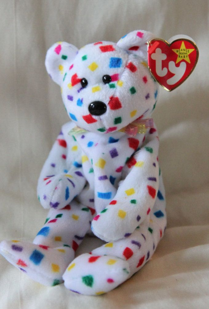 Original MINT Ty 2K TY Beanie Baby - Retired - Rare -Style 4040- PVC  pellets - Tag Errors - No Stamp by ShandleMcKins on Etsy 545cceaa42b4