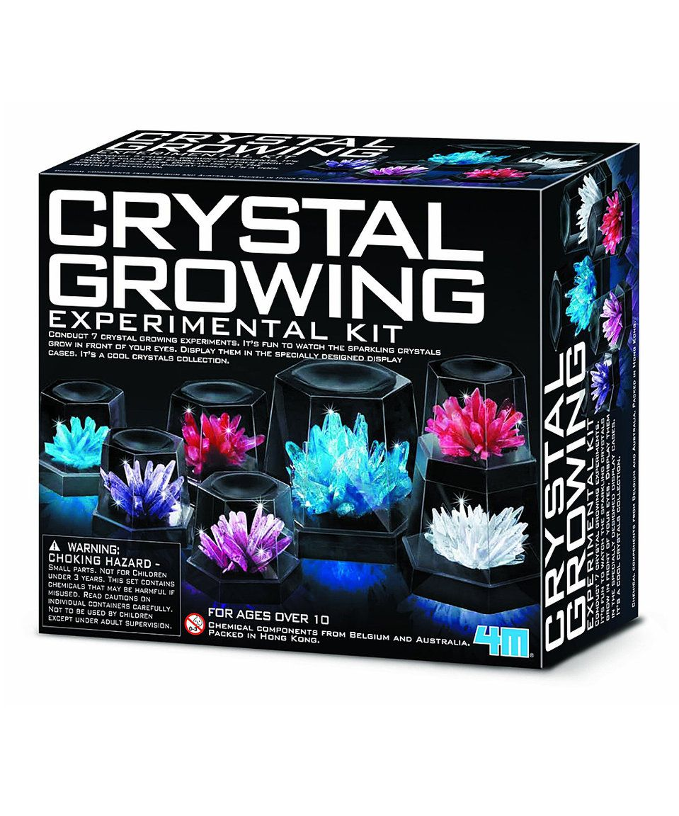 Take a look at this Crystal Growing Experiment Kit today