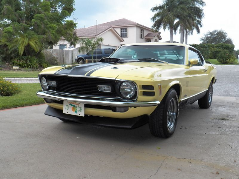 1970 Ford Mustang Mach 1 for sale by Owner - Boynton beach, FL ...