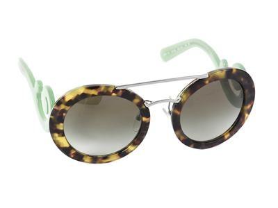 b5bbc602b7dcc ... ebay sunglasses prada spr 13s 54 25 brown melange frames green temples  7c2fd adb29