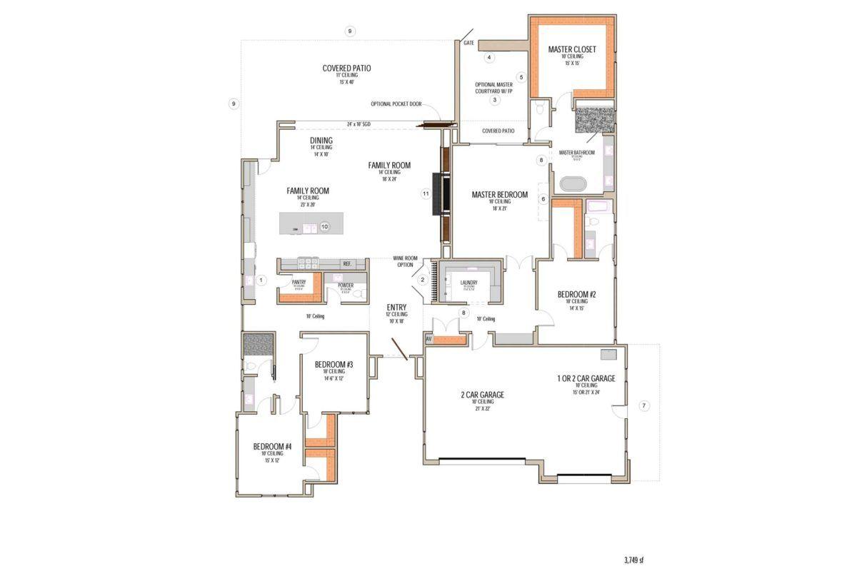 Plan 5 Floor Plan1920 Luxury House Plans Luxury Homes House Plans
